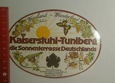Aufkleber/Sticker: Kaiserstuhl Tuniberg Sonnenterrasse Deutschlands (14091680)