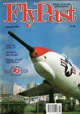 Flypast Magazine 1992 February Martin Baker Meteor,Ercoupe,Shackleton,Malta