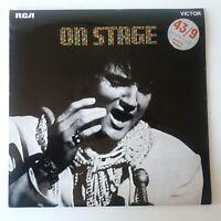 Elvis Presley - On Stage - Vinyl LP UK 1st Press + Poster EX/NM