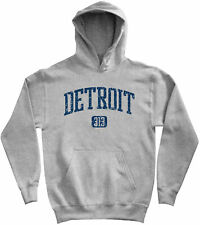 Detroit 313 Hoodie - MI Michigan Tigers Red Wings Lions Pistons DTW - Men S-3XL