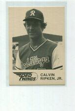 1981 Rochester Red Wings Cal Ripken Jr. #1 Red Wings