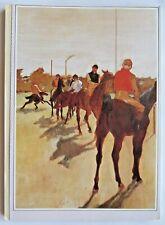 READER'S DIGEST MAGAZINE JULY 1984. NOSTALGIC ADS. BACK COVER ART - HORSE RACING