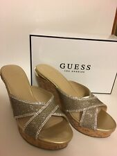 Guess Elenora Wedge Sandal. Size 8.5. New In Box!