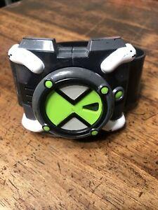 2006 Bandai Ben 10 Omnitrix FX Watch Lights Sounds Works Needs Battery X
