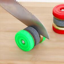 1pc redondo de doble faz afilador de cuchillos de piedra piedra de afilar útil H