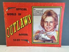 1979 World Of Outlaws Yearbook Sprint Car  Steve Kinser Inaugural Season Review