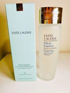 ESTEE LAUDER Micro Essence Skin Activating Treatment Lotion 5 fl oz 150 ml NIB