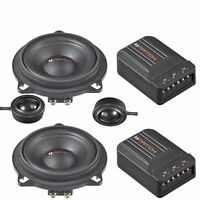 Match Audiotec Fisher 2 Way Component Speaker Set Upgrade Kit BMW 5 Series F11