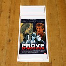 PROVE D'ACCUSA locandina poster Loved Sean Penn William Hurt Robin Wright AO49
