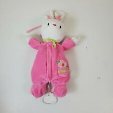 Child of Mine Pink Bunny Musical Plush Pull Hang Thank Heaven for Little Girl