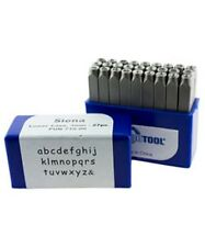 Siena Lower Case Letter Punch Set 3mm 27pcs Eurotool