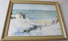 Norman MacGeorge(1872~1952)~Well Listed Artist&Art Patron~Beach Boys~LITHOGRAPH