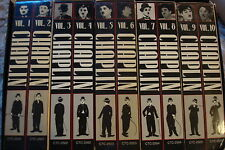 Chaplin collection VHS 10 tapes, 36 movies