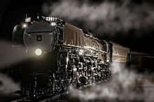 Union Pacific Challenger 3977 20x30 Photo train canvas art Vintage Steam Engine