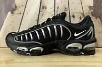 Nike Air Max Tailwind IV (GS) Shoes Black Silver BQ9810-002 Size 6.5Y / Wmn's 8