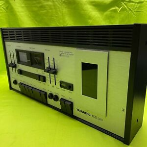 Tandberg TCD 320 High End 3 Kopf 3 Motor Kassetten Deck mit Dolby Vintage Tape