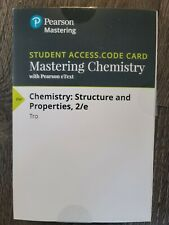 MasteringChemistry - Access Card -- for Chemistry: Structure and Properties 2nd