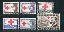 Belgium #B641-6 MNH