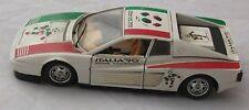MACCHINA SPONSOR ITALIA 90 BURAGO FERRARI TESTAROSSA MADE IN ITALY SCALA 1/24