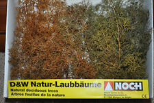 NOCH HO #2382 Realistic Dry Deciduous Trees for Flocking (Marklin) - New in Pkg