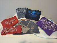 Woman's Harley Davidson Size Medium Shirts - LOT OF 6!