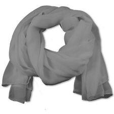 NEW Exclusive Chiffon Scarf Hijab High Quality Sarong Shawl Wrap Plain Georgette