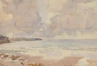 Murray McNeel Caird Urquhart RBA (1880-1972) - Watercolour, Brittany Beach