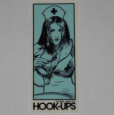 HOOK-UPS - Nurse Girl Rachel - Skateboard Sticker / Manga graphics