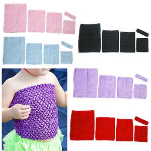 Dance Crochet Tube Top Ballet Tutu Sewing Supplies Waistband Girls Childrens