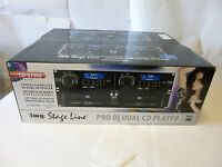 IMG Stage Line CD-270DJ Professioneller DJ Dual CD Player CD 270 21.2590