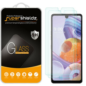 [2-Pack] Supershieldz Tempered Glass Screen Protector for LG Stylo 6
