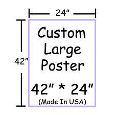 "Poster Print Custom Photos 42"" x 24"" Large Wall Poster Print Anime"