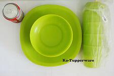 1 full package Blossom Microwaveable plates bowls mugs entertaining Tupperware