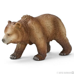 NEW SCHLEICH 14323 Grizzly Bear Female Wildlife - RETIRED