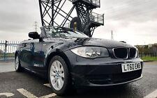 2010/60 BMW 118i ES CONVERTIBLE 118 1 SERIES BLACK CABRIOLET 2DR 6 SPEED MANUAL