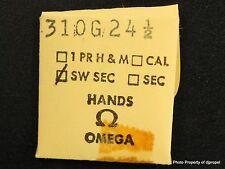 Vintage ORIGINAL OMEGA 310 G 24 1/2 Hand! Gilt Sweep Second Hand !