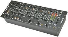 """Citronic CDM8:4 DJ Mixer USB 14 Input 19"""" Rack Mixer Disco Sound Audio"""