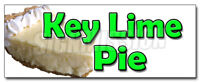 KEY LIME PIE DECAL sticker bakery eggs sweets pie graham cracker crust
