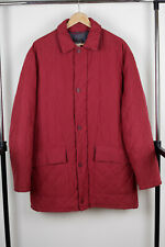 Paul & Shark Yachting Men`s Red Quilted Hooded Jacket Size L real XL