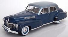 MCG 1941 Cadillac Fleetwood Serie 60 Special Sedan Blue/Light Blue 1/18 Scale