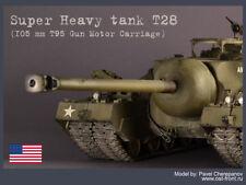PRO-BUILT 1/35 T28 Super Heavy Tank (T95) model (PREORDER)