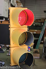 """FULL SIZE 12"""" LED TRAFFIC SIGNAL W CONTROLER WORKS LIKE THE ONE ON YOUR CORNER"""