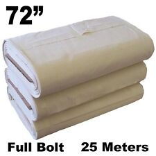 """72"""" Cotton Canvas 25 Meter Roll DIY crafts sewing tarp tent backpack painting"""