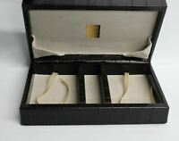ASPINAL OF LONDON Brown Leather & Suede Small Jewellery Storage Box Organiser