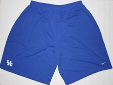 NIP Nike Men's Kentucky Wildcats Blue Football Practice Shorts Size XXXXL 4XL