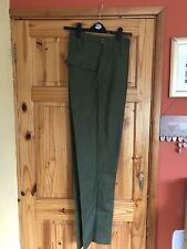 Mens Army Olive Green Lightweight Trousers size 75/92/108