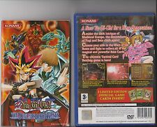 YU GI OH THE DUELISTS OF THE ROSES PLAYSTATION 2 PS2 PS 2