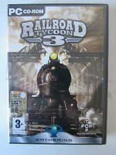 PC-CD ROM RAILROAD TYCOON 3  GAME