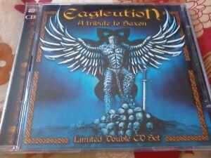 A TRIBUTE TO SAXON Eagleution 2005 2 CD Set POST FREE