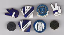 Collection Of 8 Quality Portsmouth Badges - Great Christmas Present